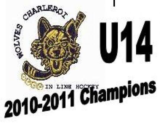 U14: Wolves Charleroi KAMPIOEN VAN BELGIE