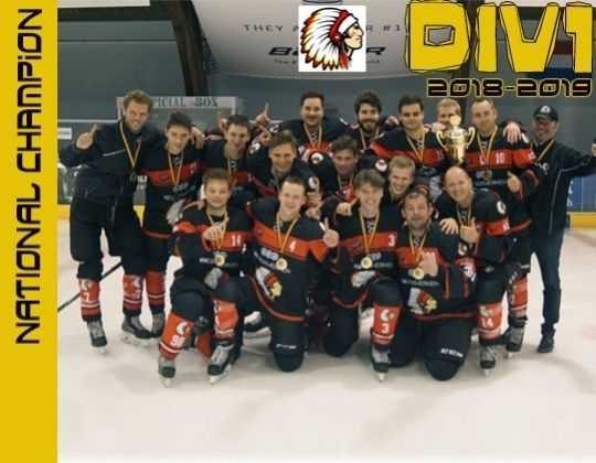 Chiefs Leuven landskampioen in Divisie 1.