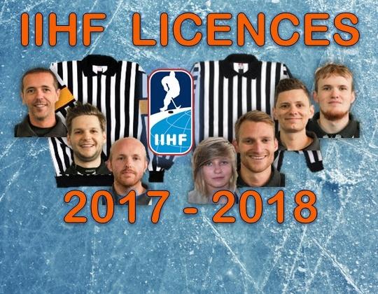 Zeven internationale on-ice licenties voor België