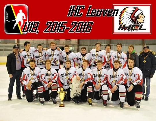 Kampioen U19: IHC Leuven !