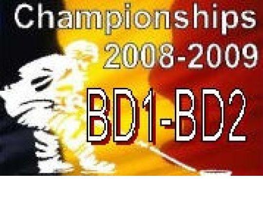 Play-Offs BD1 en BD2 : Kalender en uitslagen