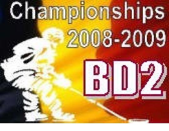 Eerste titel 2008-2009, in BD2, voor Olympia Heist