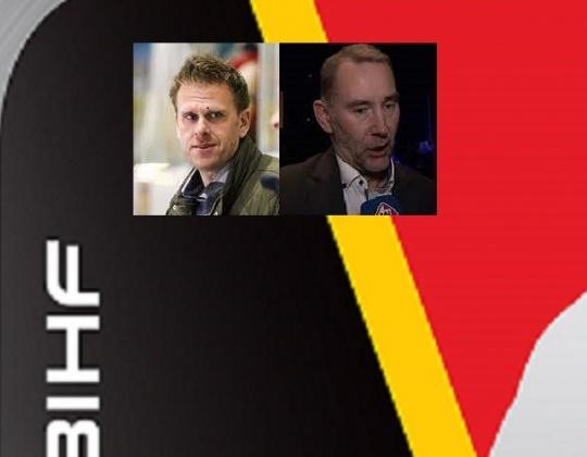 De coaches voor het WK2021  in IJsland: Jeffrey van Iersel en Chris Eimers