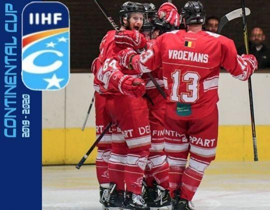 IIHF Continental CUP komt naar Belgie