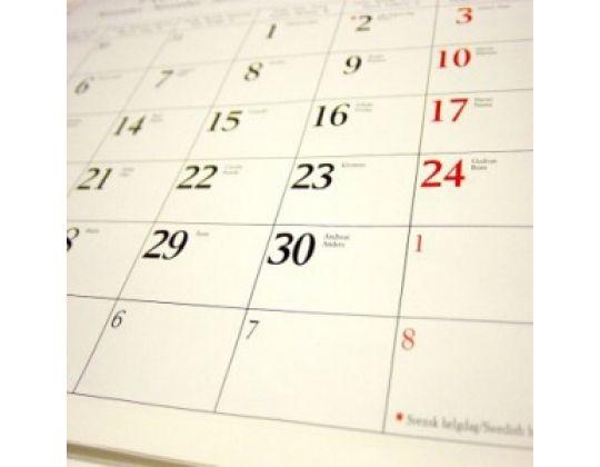 Wedstrijd Kalender Inline 2010-2011 online.