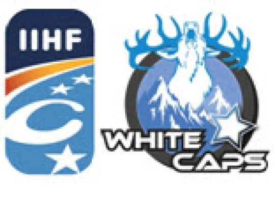Continental Cup (Ankara - TUR), 1ste Ronde: White Caps wint de twee wedstrijden !
