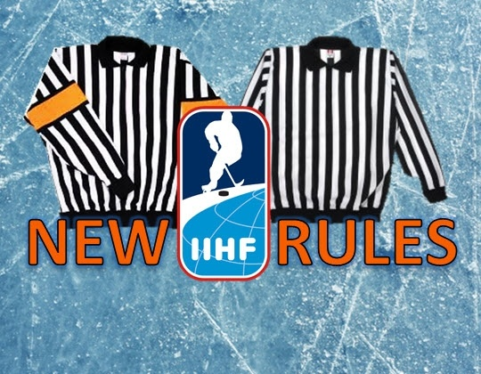 Playing rule changes for next season