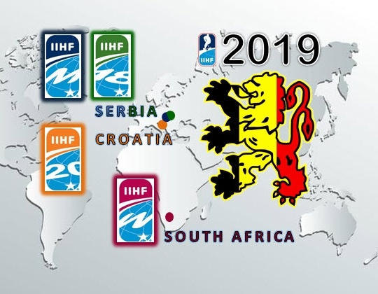 Allocation IIHF world championships 2018-2019
