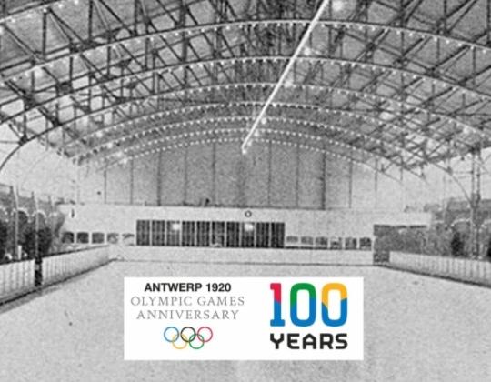Het 1ste Olympische ijshockeytoernooi: Face-off 100 jaar geleden op de Olympische Spelen in Antwerpen