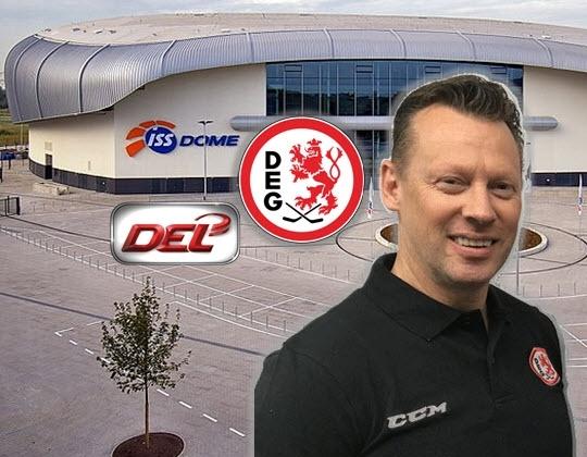 Mike Pellegrims DEG-Cheftrainer!