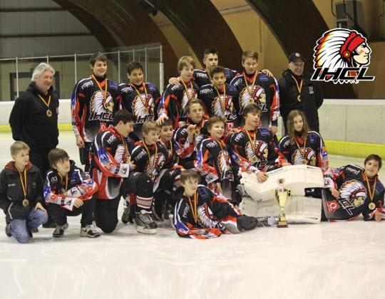 En voor de derde keer voor IHC Leuven: de U14 zijn ook Belgisch kampioen 2013-2014.