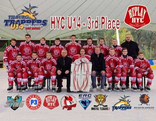 HYC U14 Red succesvol in Tilburg!