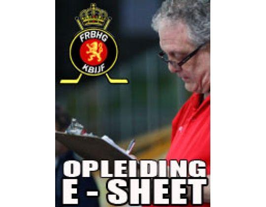 Opleiding E-Sheet in Maaseik aanstaande weekeinde