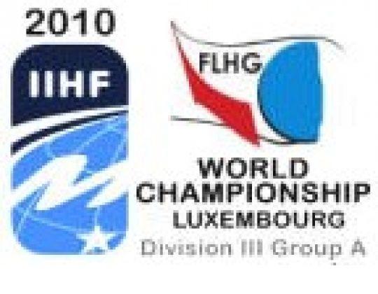 IIHF World Championship Div.IIIA à Kockelscheuer (Luxembourg)