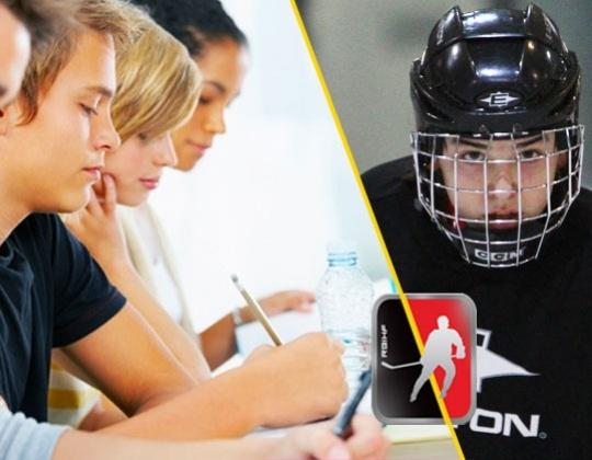 Ijshockey op school in België ? Het Kan nu echt ..