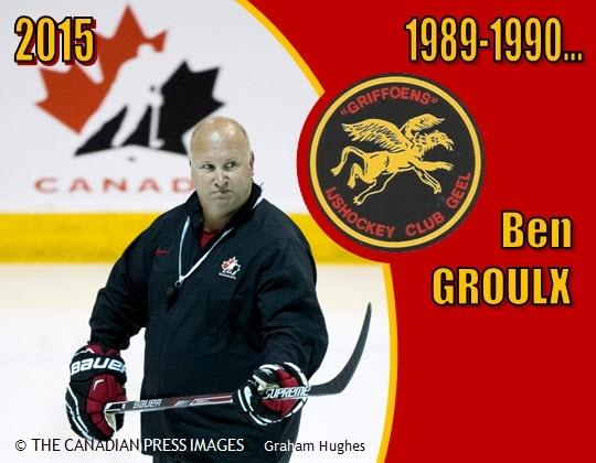 Benoît Groulx, coach van de Canadese Nationale U20-ploeg