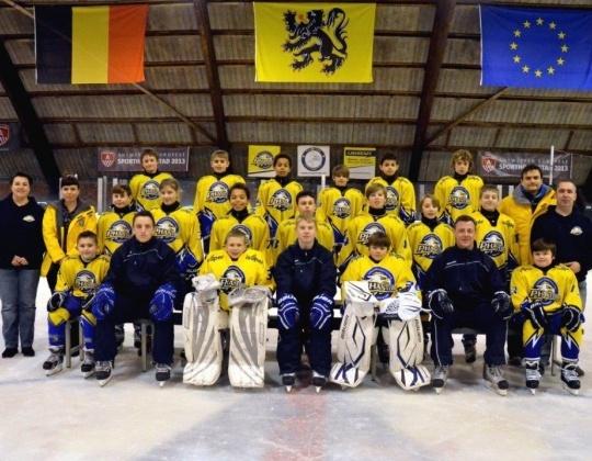 Jeugdteam Antwerp Phantoms opnieuw naar EuroChem toernooi in Rusland