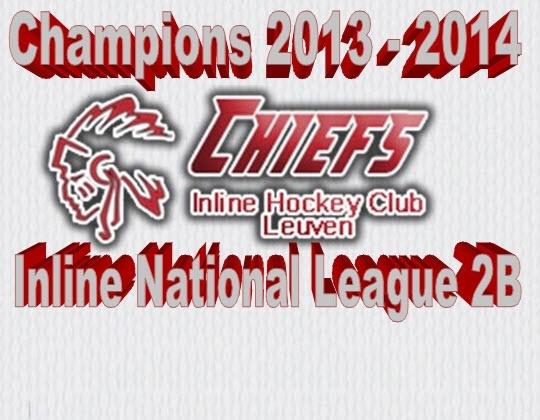 CHIEFS kampioen in National 2B
