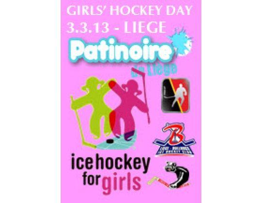 Zondag 3 Maart 2013: Girls Hockey Day in Luik (Médiacité)