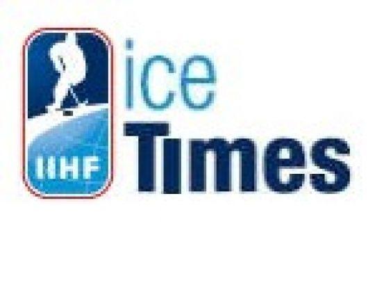 IIHF Ice Times van oktober 2009...