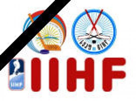 6 DEELNEMERS AAN HET IIHF-CONGRES VERONGELUKT