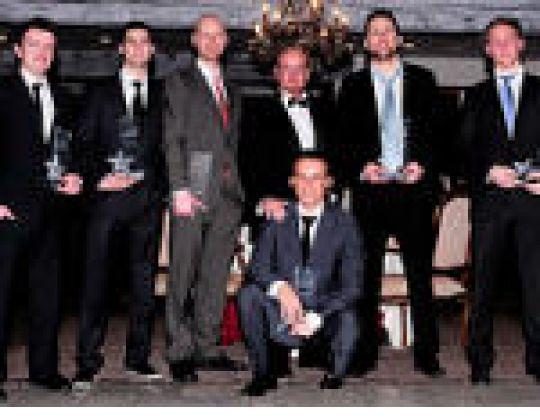 AWARDS TIJDENS DE BLACK TIE PARTY UITGEREIKT(11.02.2011)