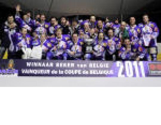 WHITE CAPS TURNHOUT WINT DE BEKER VAN BELGIE IJSHOCKEY