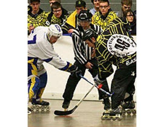 Sportiek Spins winnen Finale Beker van België In-line hockey