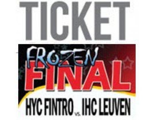 Kassaverkoop tickets Bekerfinale