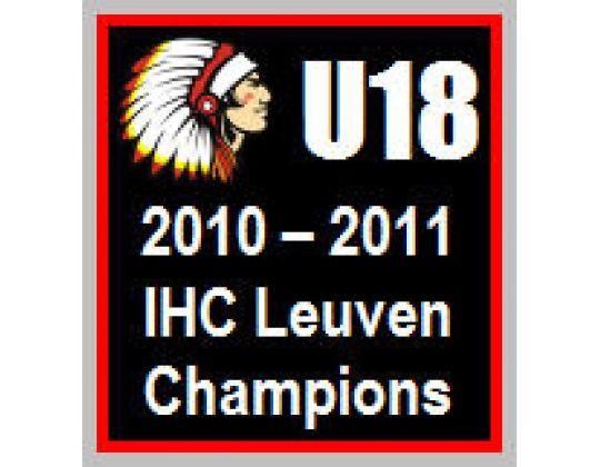 U18 IHC Leuven kampioen van België