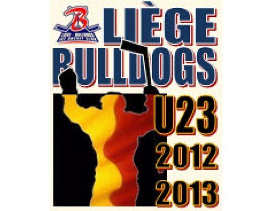 De U23 van Bulldogs Luik behouden hun titel