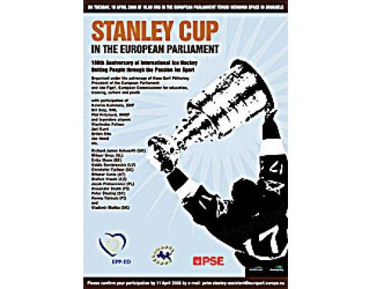 De Stanley Cup in België!