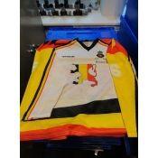 93/94 White Worldchampionship Gameworn Jersey