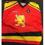 93/94 Red Worldchampionship Gameworn Jersey